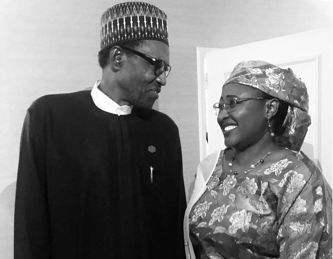 Eid: Buhari, Aisha pictured together first time in months