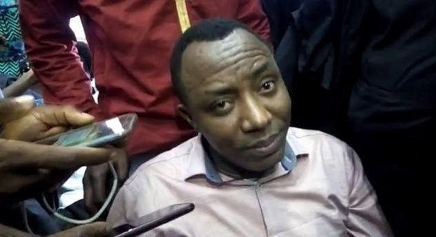 JUST IN: Police arrest Sowore at Nnamdi Kanu's trial in Abuja