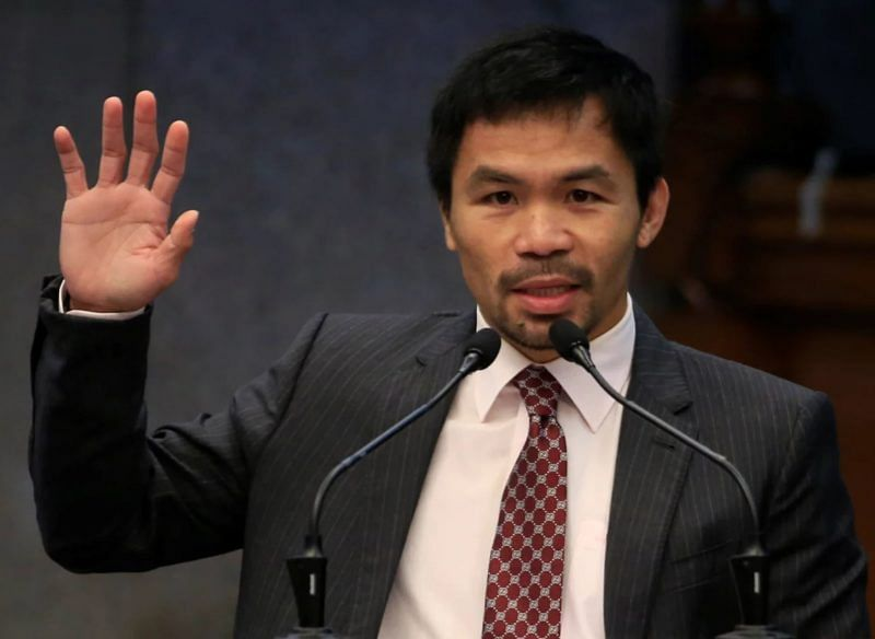 Boxer Manny Pacquiao declares for Philippine presidency in 2022