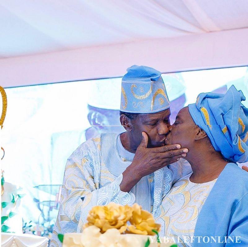Pastor Adeboye felicitates wife, Folu, at 73