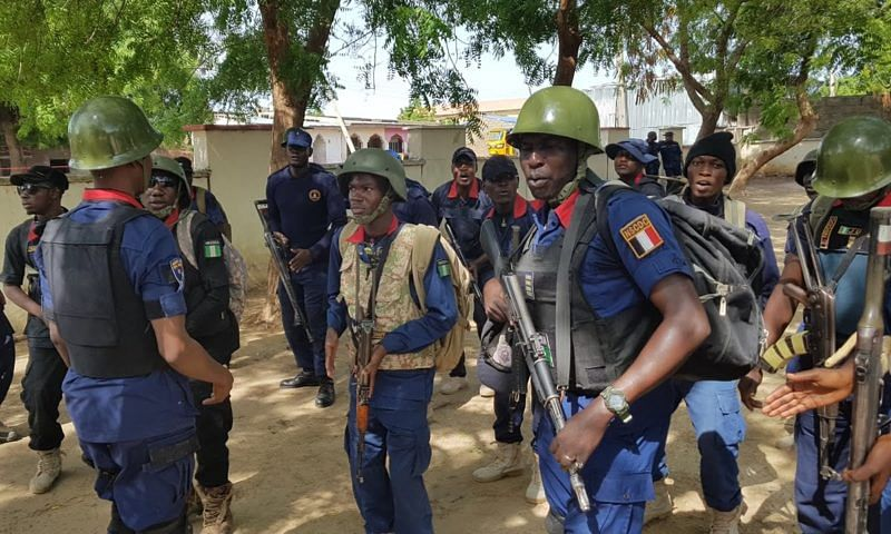 NSCDC parades man for trafficking girlfriend to Libya