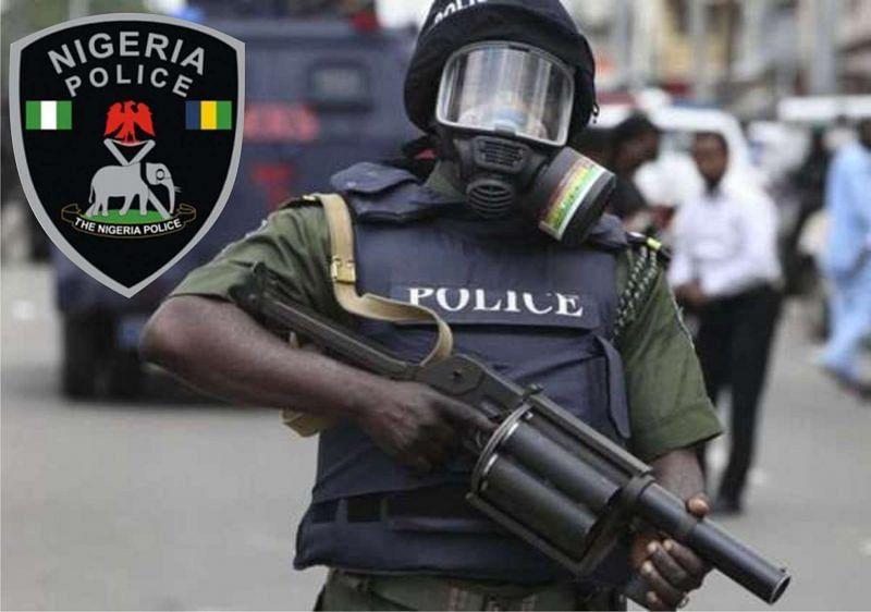 Police parade nine suspects for allegedly robbing bank customers, PoS terminals in Borno