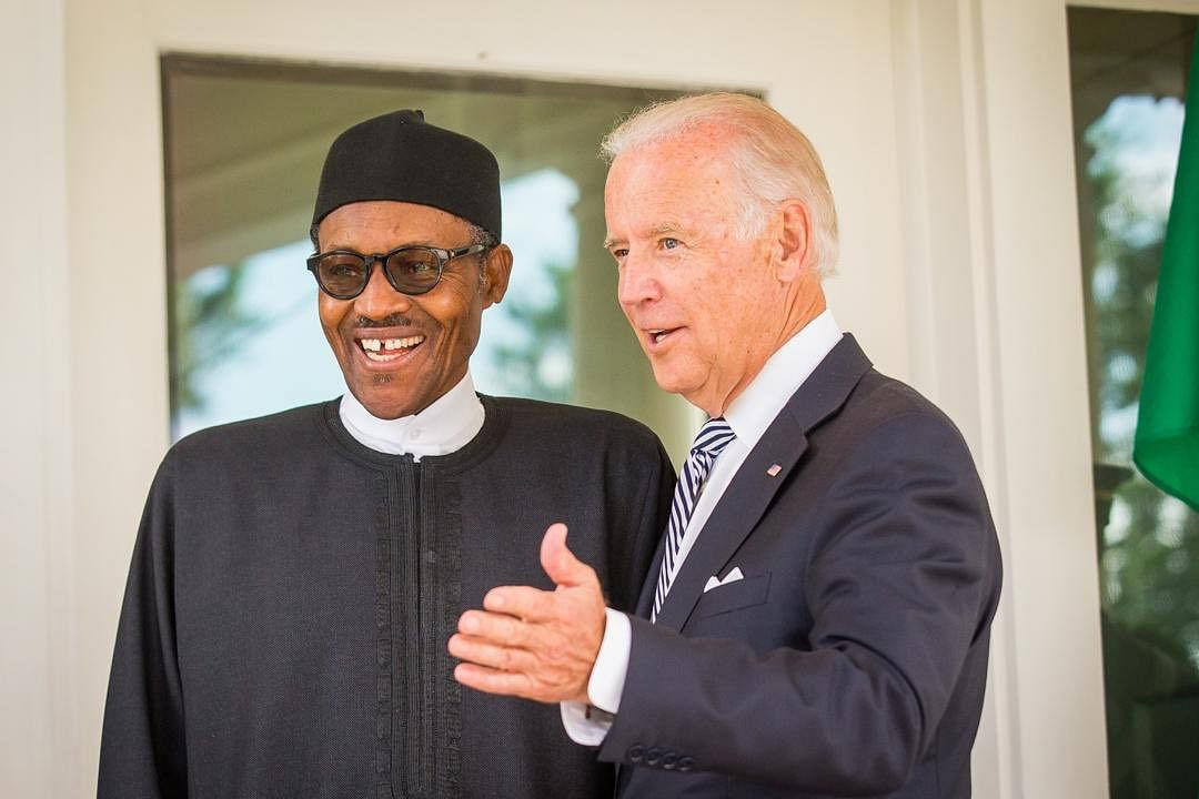 Buhari congratulates Biden, Americans on 245th Independence Day