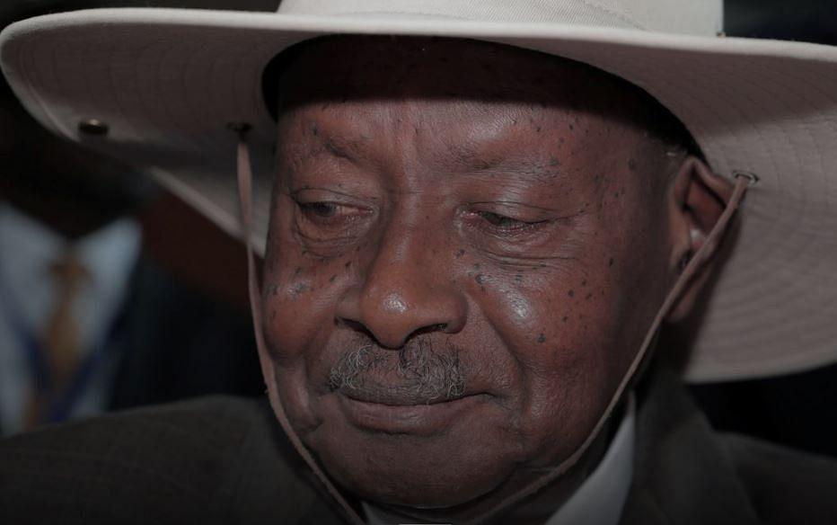 Museveni sworn in for 6th term as Uganda's president