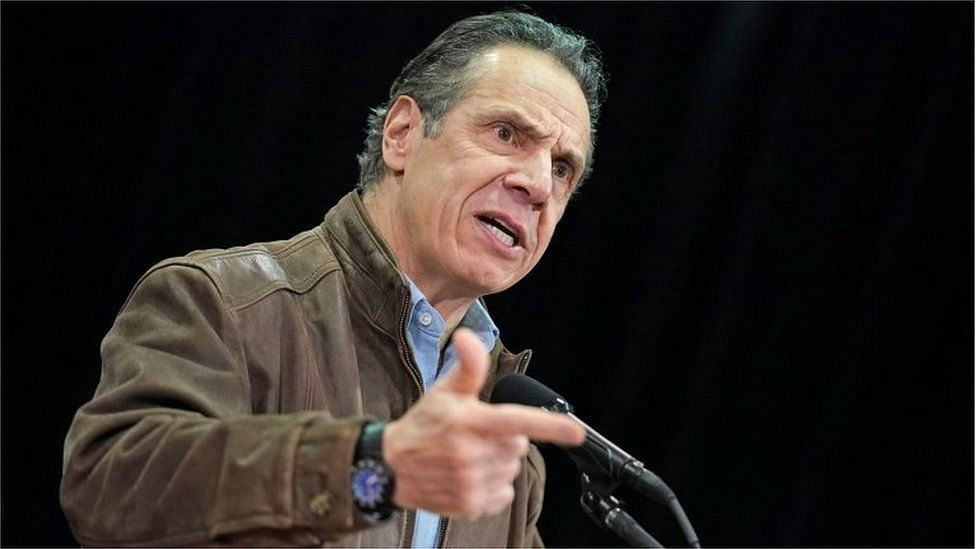 New York Governor Cuomo resigns after sexual harassment claims