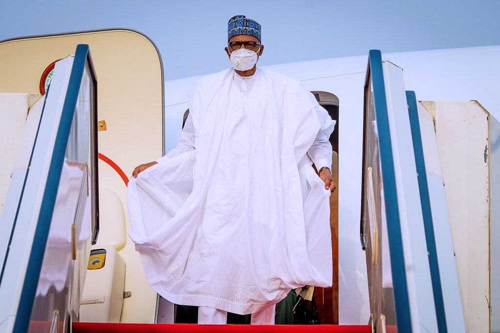 Buhari jets out to London for summit, medical check-up