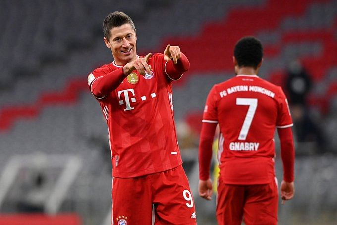 Lewandowski voted German Player of the Year