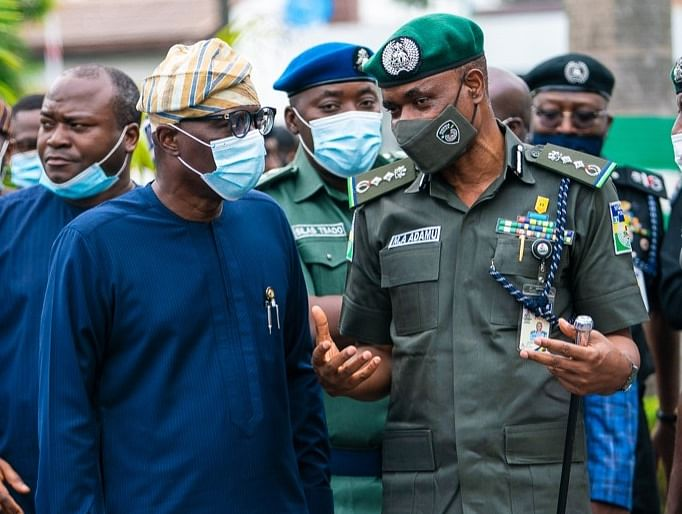 Insecurity: Sanwo-Olu vows to strengthen security forces to keep Lagos safe