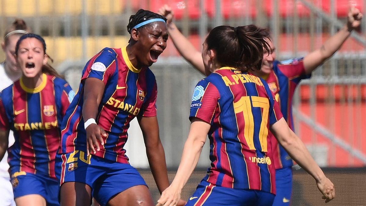 Oshoala wins Primera Division title with Barcelona
