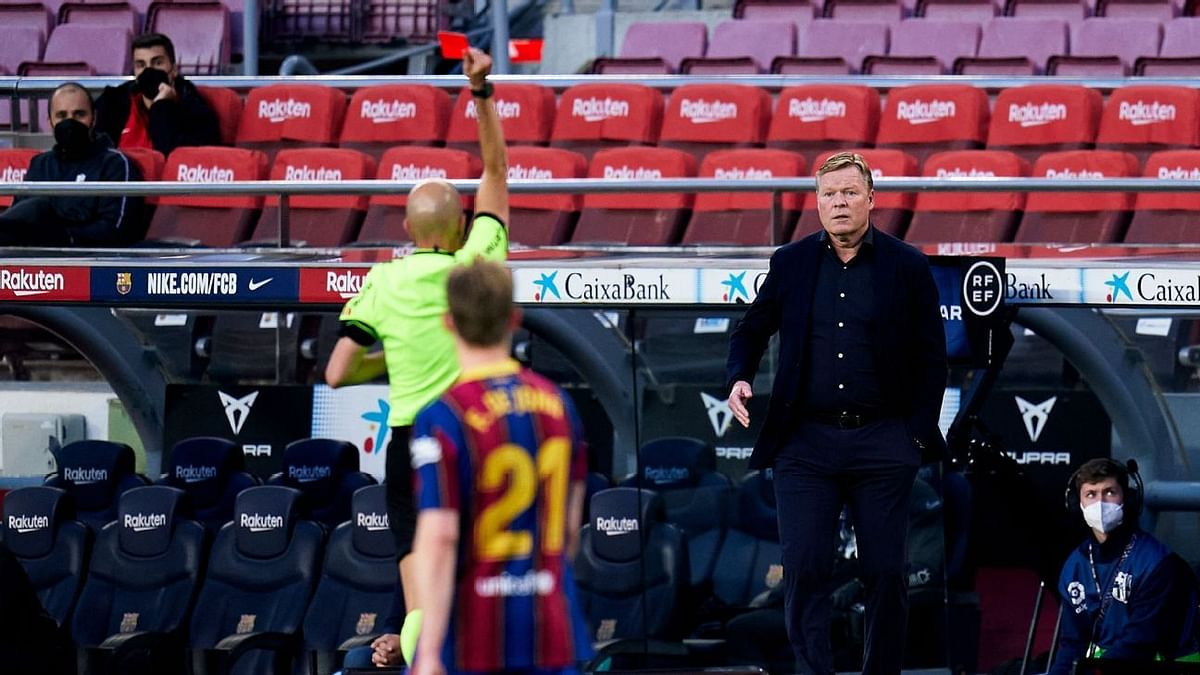 Koeman's Barca future in doubt after 3-3 draw at Levante