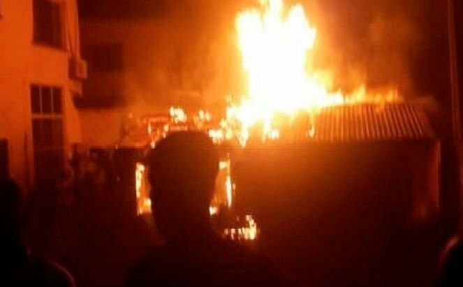 Properties worth millions destroyed as fire guts Osun CP's house