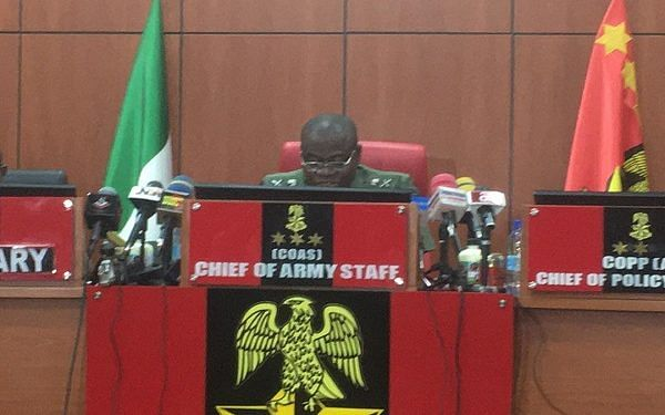 PHOTOS: Farouk Yahaya presides over security briefing with GOCs, others