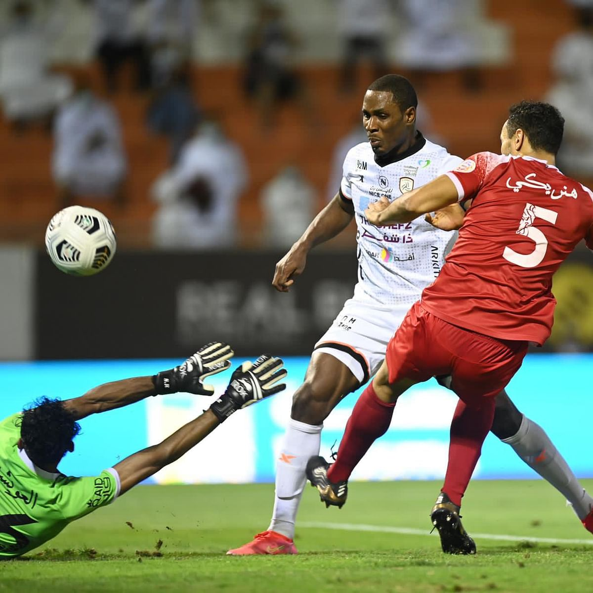 VIDEOS: Ighalo's brace gives Al Shabab 3-0 victory over Al Wehda