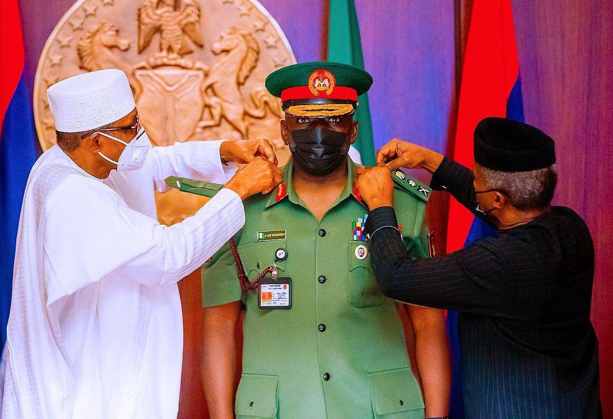 Why Buhari was absent at Attahiru's burial – Garba Shehu