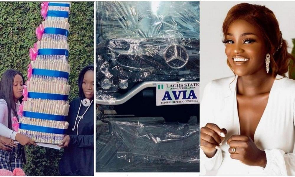 PHOTOS: Fans gift actress Bukunmi G-Wagon, surprise birthday cakes