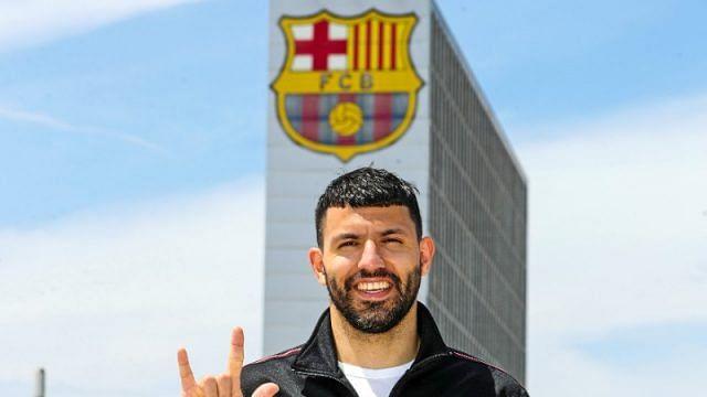 Aguero heads to Barcelona on free transfer