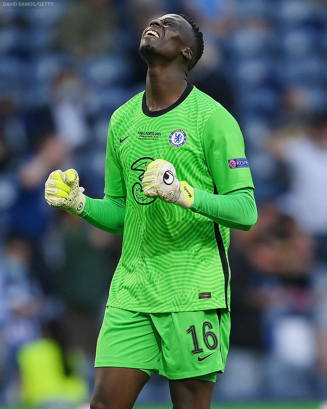 Edouard Mendy becomes first African goalkeeper to win UEFA Champions League