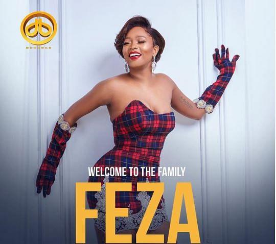 D'banj signs Tanzanian singer, Feza Kessy, to record label