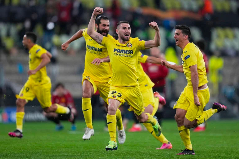 JUST IN: Chukwueze's Villareal defeat United in epic shootout to win Europa