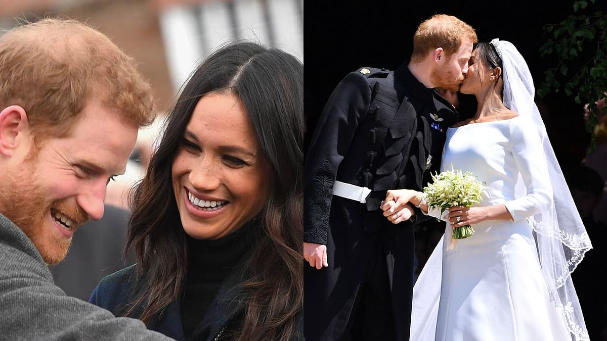 Prince Harry, Meghan Markle celebrate third wedding anniversary