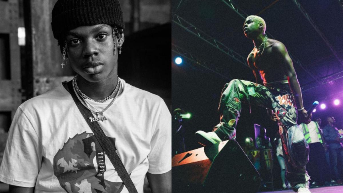 Singer Rema schools trolls who call his music 'childish'