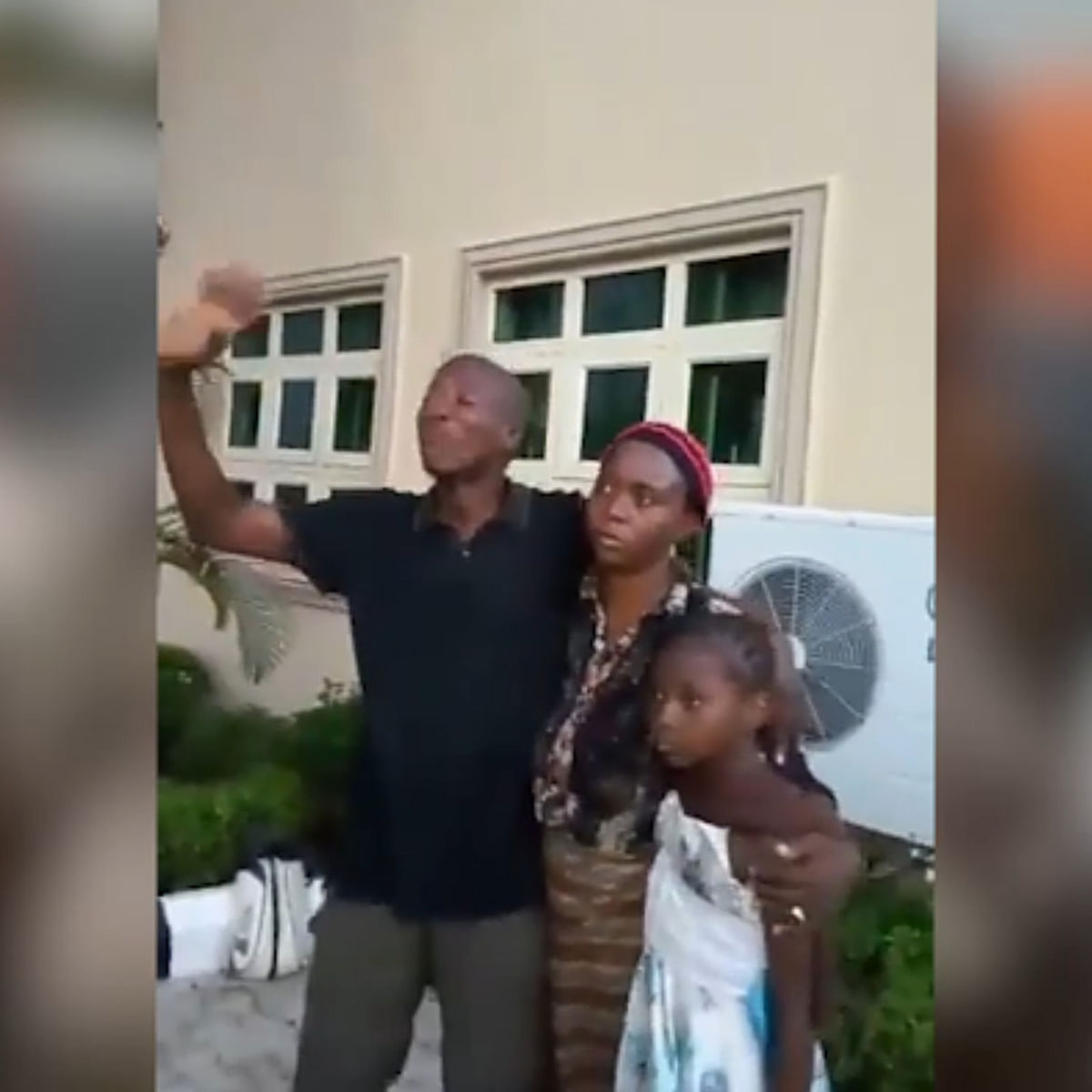 VIDEO: Abducted Greenfield University students reunite with their families