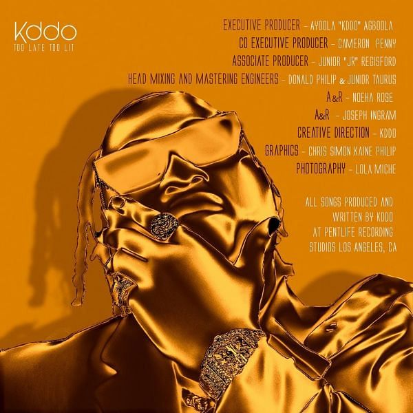 KDDO, formerly Kiddominant, drops debut album 'Too Late Too Lit'