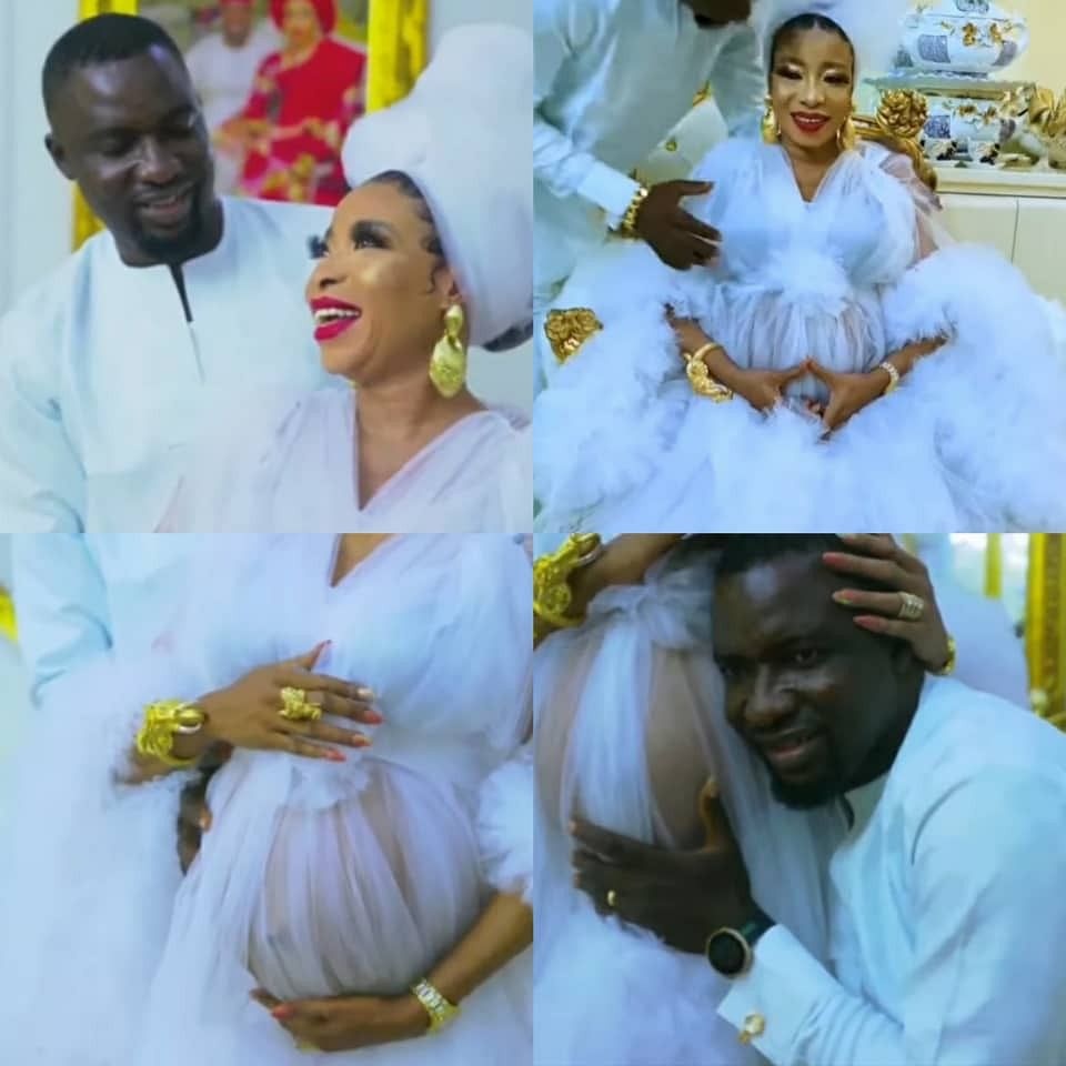 VIDEO: Lizzy Anjorin, hubby welcome first child in US