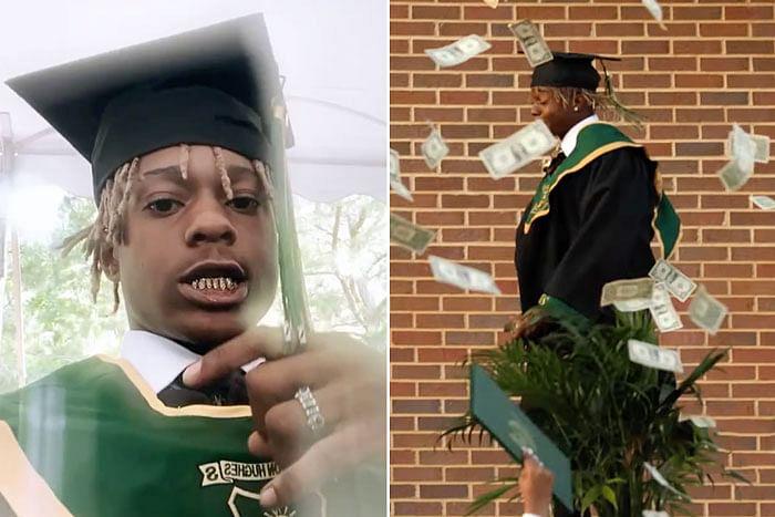 Metro Marrs arrested after splashing $10,000 at high school graduation