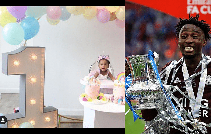 PHOTOS: Ndidi dedicates FA Cup victory with Leicester City to daughter, Jaina