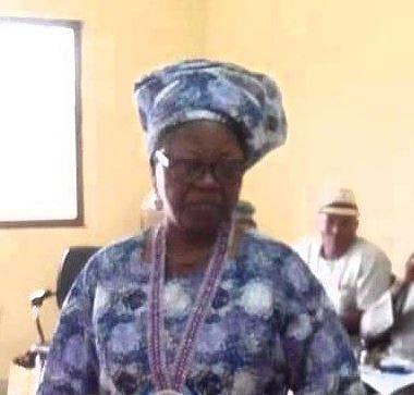 Author Of Nigeria's National Pledge, Prof Felicia Adedoyin is dead