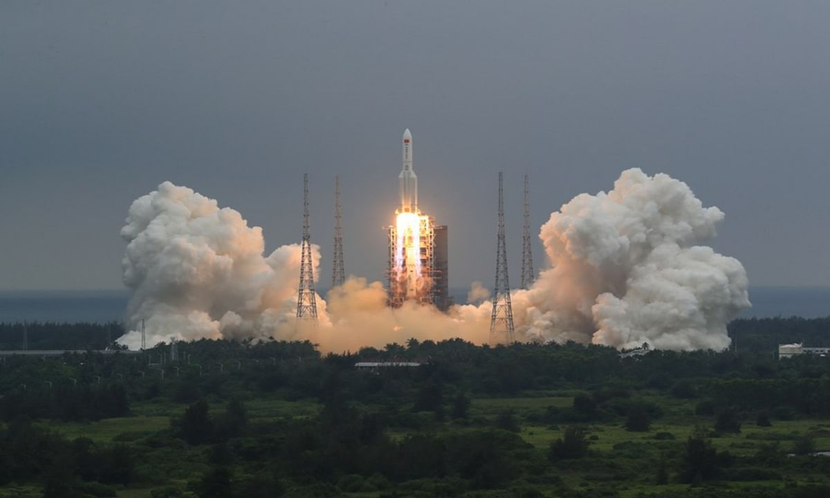 10-storey tall Chinese rocket likely heading for Abuja at uncontrollable speed