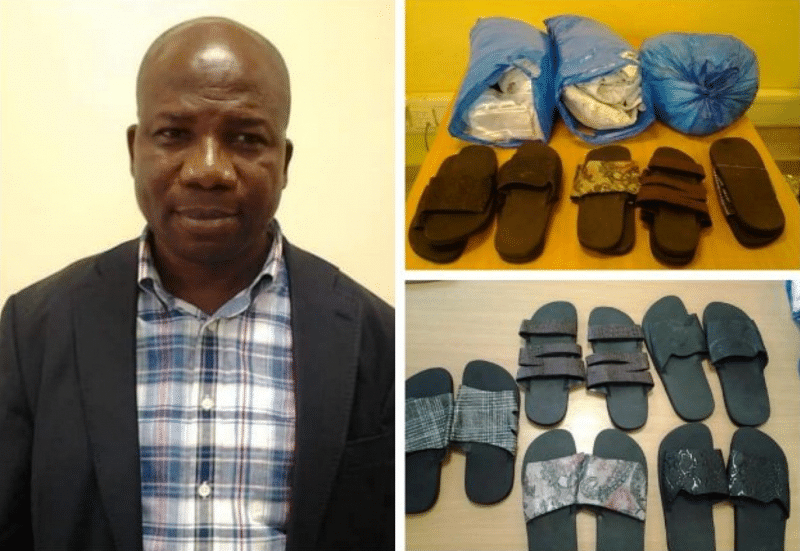 JUST IN: Lagos politician, described as notorious drug baron, arrested with cocaine at MMIA