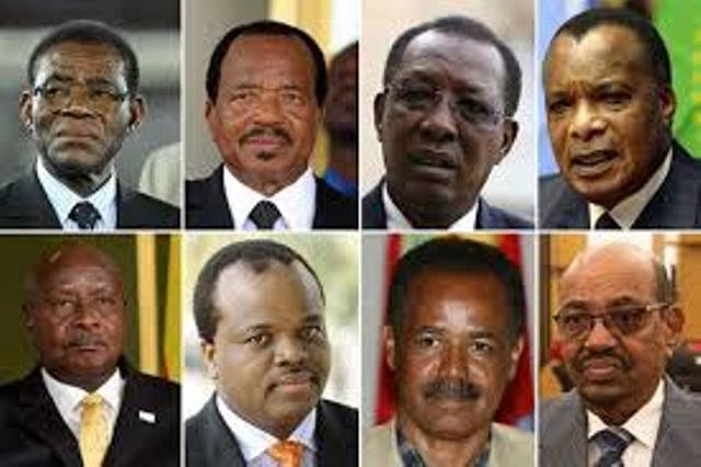 Museveni and nine other sit-tight African rulers