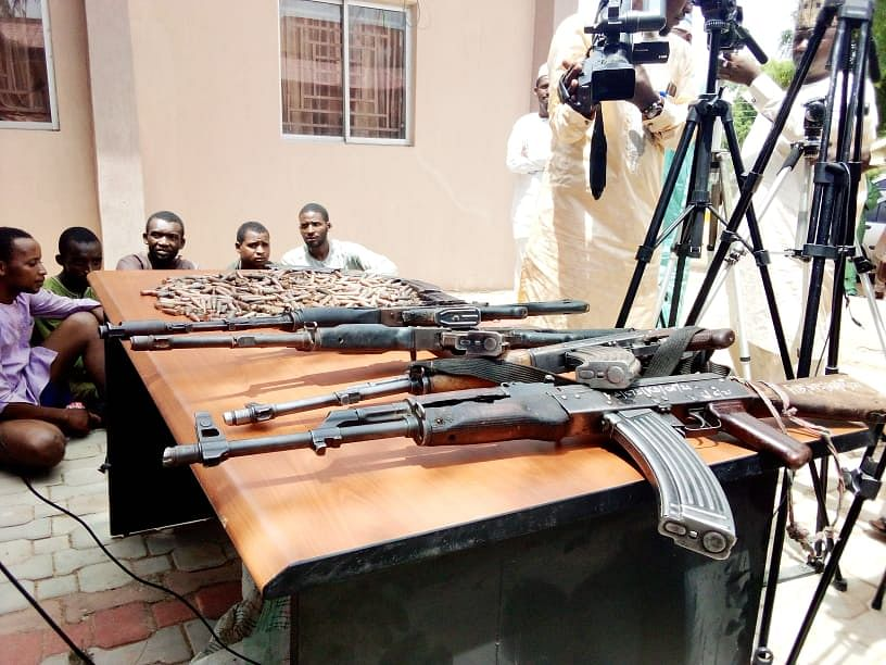 We collected N30m from two kidnap victims – Bandits arrested in Zamfara