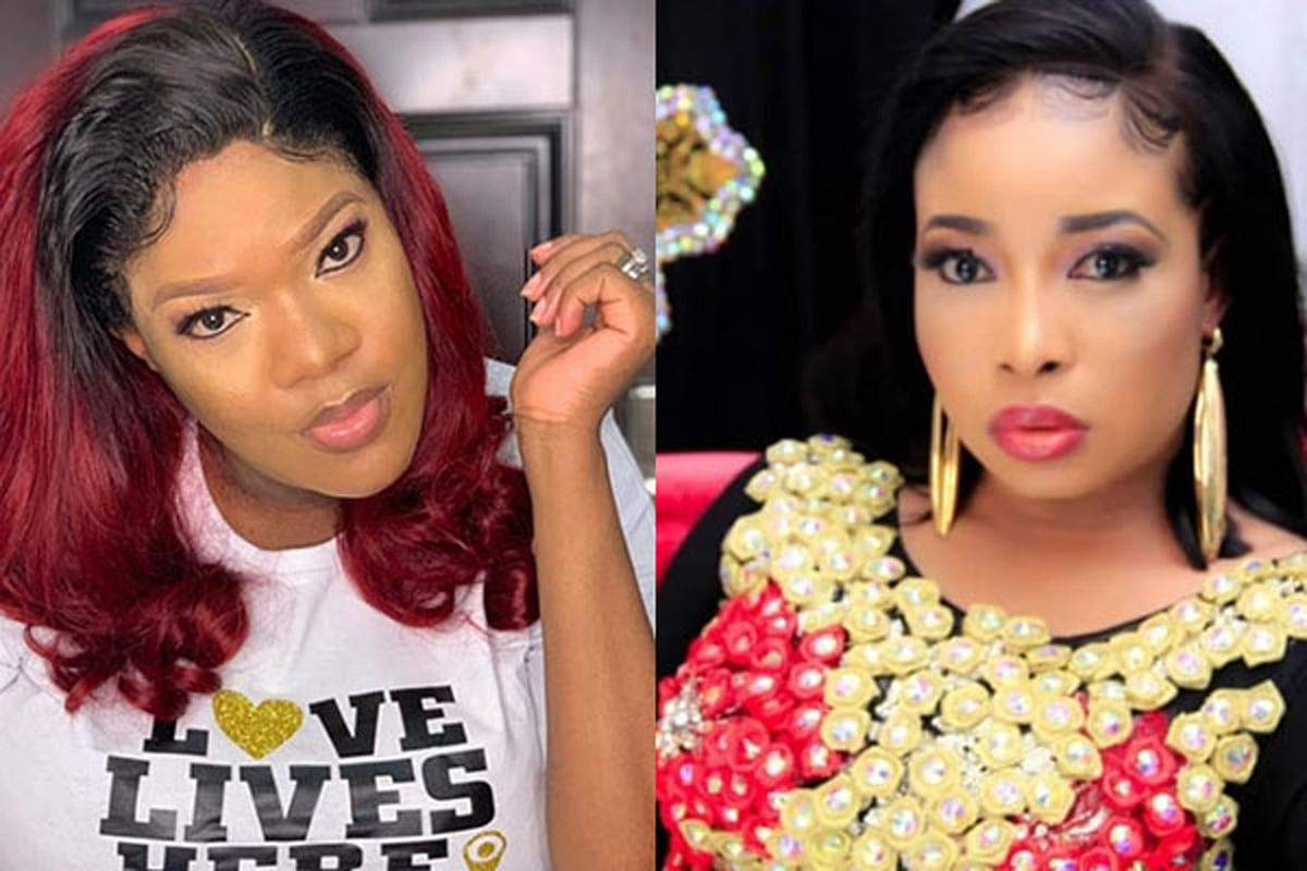 VIDEO: Toyin Abraham breaks down in tears while recounting public spat with Lizzy Anjorin