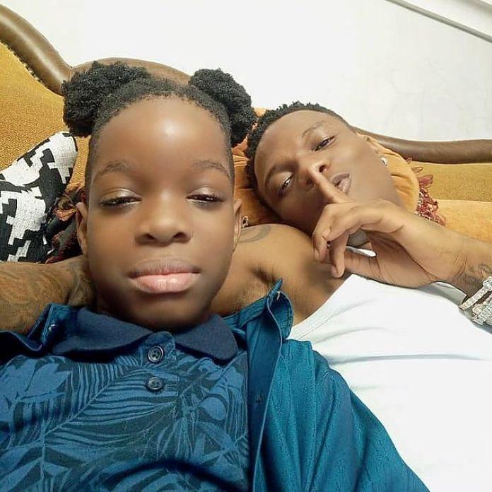 Wizkid celebrates first son at 10