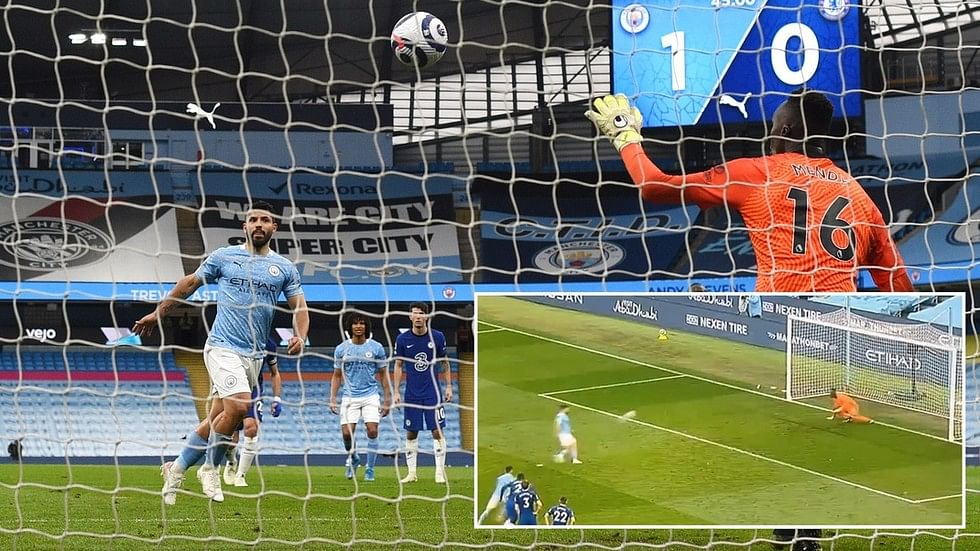 JUST IN: Man City made to wait for title after Aguero misses penalty in Chelsea 2-1 comeback win