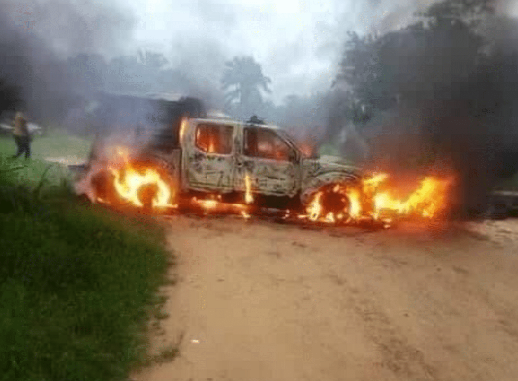 JUST IN: Again, gunmen attack two police stations in Akwa Ibom, kill one cop