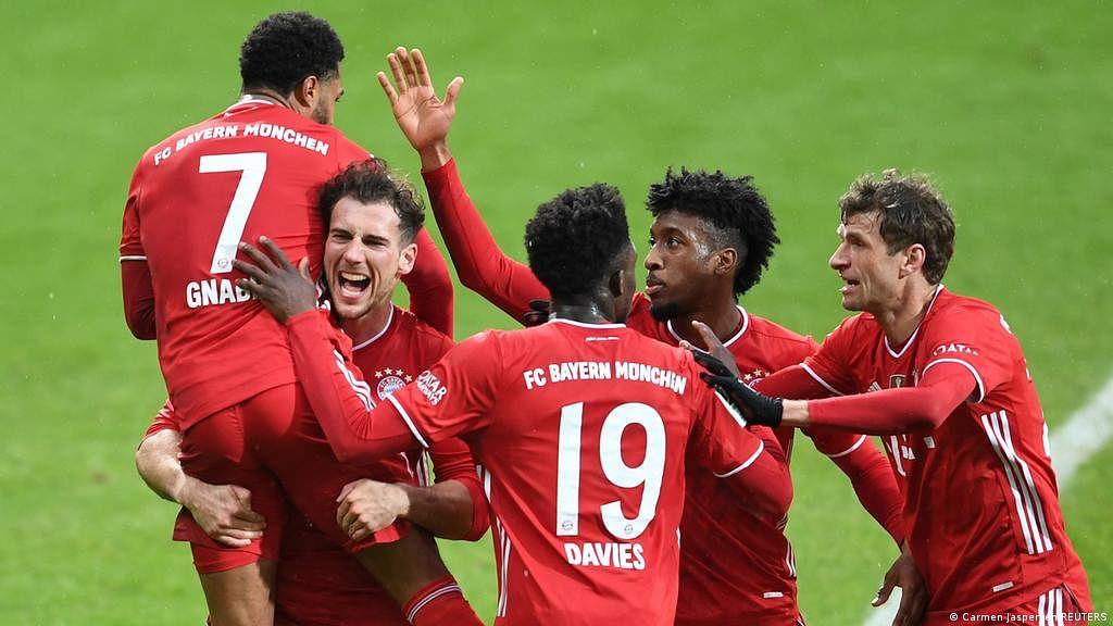Bayern win Bundesliga