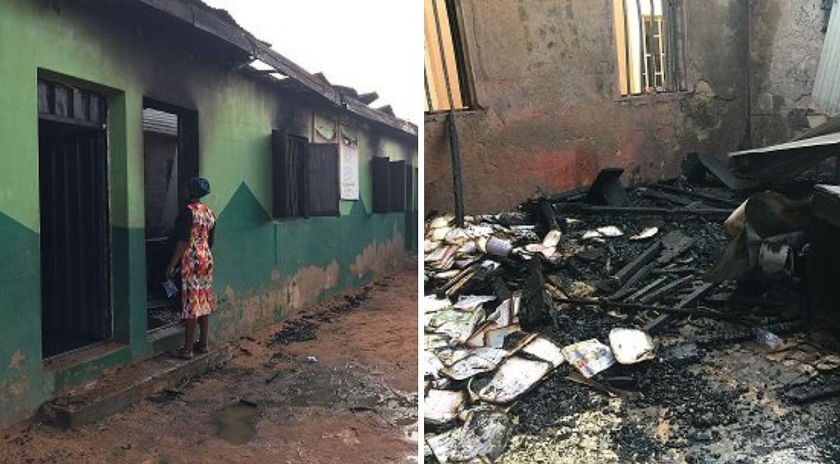 Fire guts RCCG primary school in Damaturu