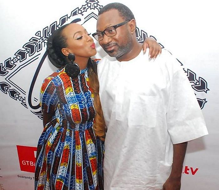 I'm honoured to have a father like you, DJ Cuppy gushes over dad, Otedola