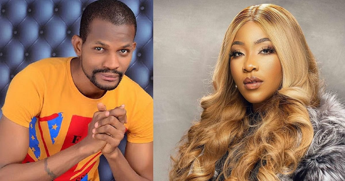 Uche Maduagwu slams Erica over her 'men aren't approaching me' statement