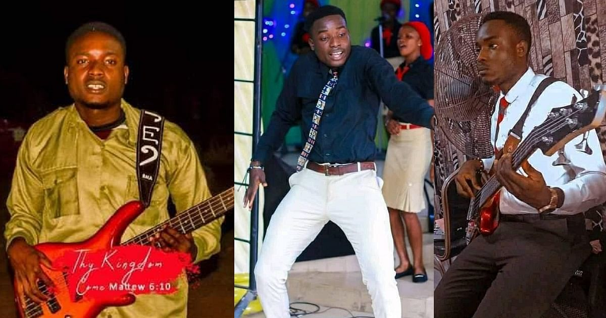 RCCG guitarist slumps in Church during praise and worship session