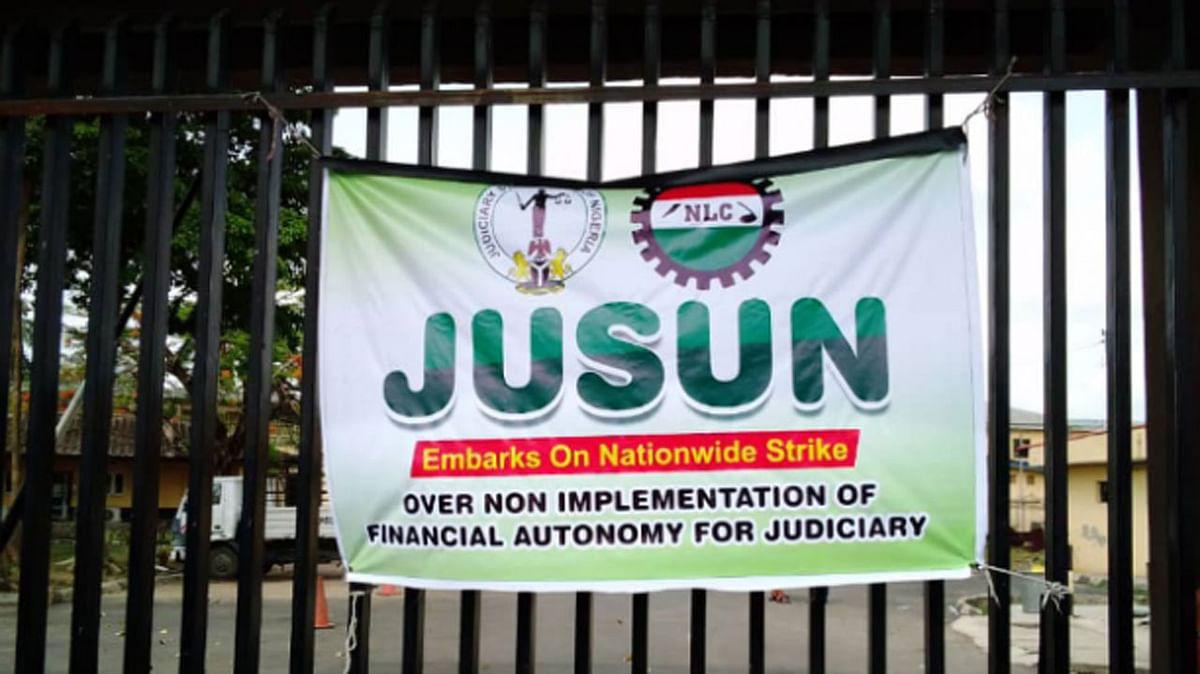 No resumption until financial autonomy demands are met- striking judicial workers