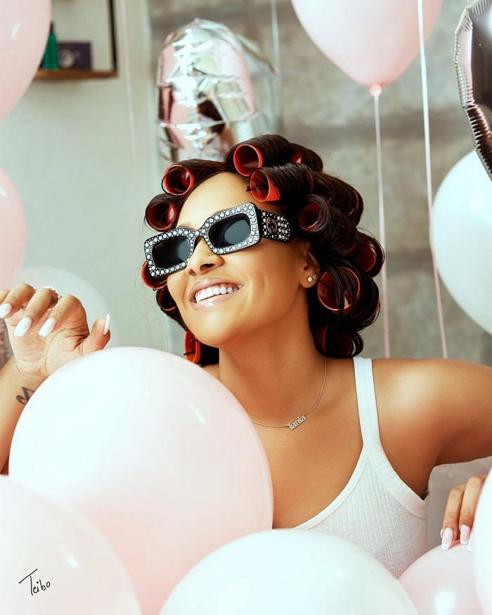 Wizkid's ex-girlfriend, Tania Omotayo, wows fans with adorable photos on birthday