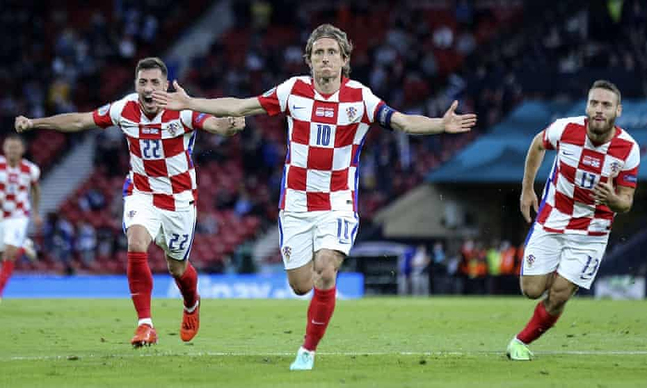 EURO 2020: Croatia beat Scotland 3-1 to qualify for knockout stages