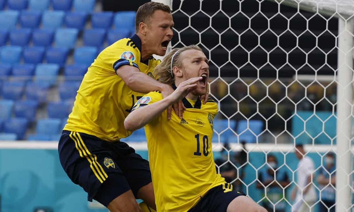 EURO 2020: Forsberg penalty hands Sweden 1-0 win over Slovakia