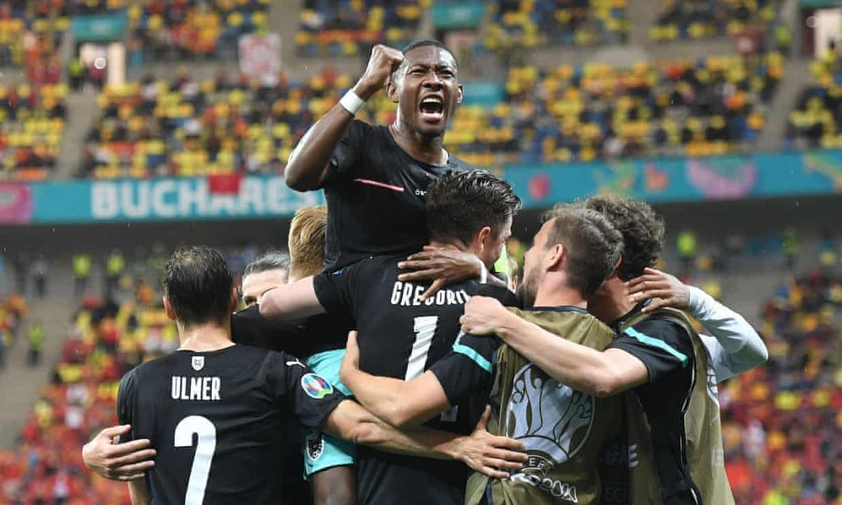 Austria beat North Macedonia 3-1 to secure first win in Europe