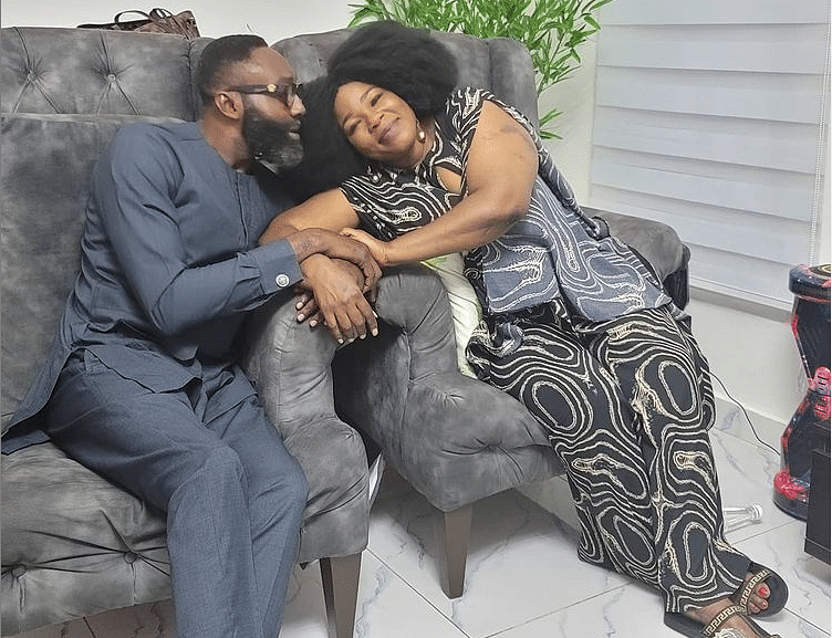 Actress Ada Ameh finds love again, shares adorable photo of new boo